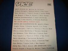VICE MAGAZINE VOL 5 No 12 THE SECOND ANNUAL FICTION  ISSUE JANUARY 2008 RARE
