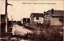 CPA  Fosses (S.-et-O.) - Quartier de la Gare - Rue des Anémones  (290291)