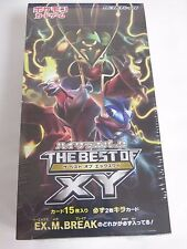 Display 10 Boosters Cartes Pokemon HIGH CLASS BEST OF XY Jap