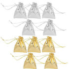 25/50 Organza Wedding Party Favor Candy Pouch Gift Bags Jewellery Packaging 12x9