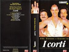 I CORTI DI ALDO GIOVANNI E GIACOMO (1996)  VHS - POLYGRAM VIDEO