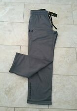 New Under Armour Cold Gear Storm 1 Mens Dark Gray Sweatpants Long Pants Small