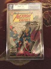 1st app. SUPERGIRL Action Comics 252 1959 PGX 2.5