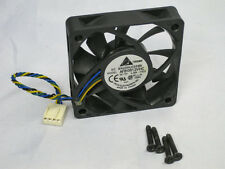 Delta AFB0612VHC 60mm x 13mm PWM Fan 4 Pin Connector + 4 Screws HP dc7700 dc7600