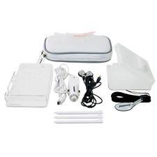 New White dreamGEAR Nintendo DSi 10 in 1 Starter Kit Case Stylus Earbuds