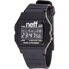 Neff Men's Flava XL Surf Watch Black digital water resistant unisex timepiece