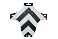 35 Bikes Guard - MTB Mud Guard Front Fender Fork Protector Enduro DH WHITE/BLACK