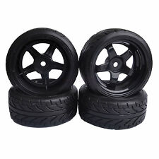 6mm Offset RC 1:10 On-Road Drift Car Hard Plastic Tires Wheels Rim HSP 7030-9015