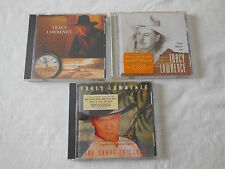 Tracy Lawrence 3 CD Lot Time Marches On, The Coast Is Clear & Best Of FREE SHIP!