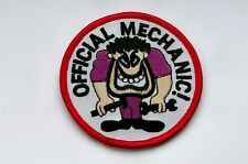 OFFICIAL MECHANIC PATCH EMBROIDERED CLOTH BADGE