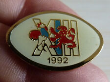 PIN'S COQ RUGBY A XIII 13 FEDERATION RUGBY FRANCE 1992