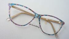 POPeyes Butterflyform Damenbrille in fröhlichen Farbmix Acetet GR: M 56-15 80s