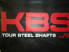 NEW KBS Tour  R, R+, S+, X -- SPINE Aligned Iron Shafts .355 3-PW