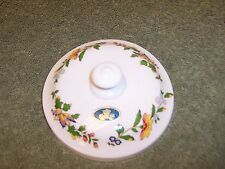 "Aynsley ""Cottage Garden"" 4 3/4"" Trinket box lid only,  Made in England"
