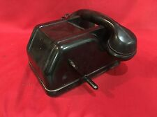 WW2 DESK MILITARY MANUAL TELEPHONE  GERMAN GERMANY WWII OFFICE HIGH RANK