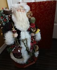 """*EXCELLENT* San Francisco Music Box Company FATHER CHRISTMAS 20 1/2"""""""