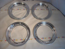 "Set of 4 beauty rings 14"" inch wheel rim 59 Plymouth"