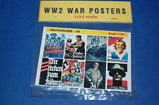 WW 2 War Posters - Deutschland 03 scala 1/35