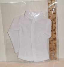 ENETERBAY TTL 1/6 SCALE MALE FASHION DOLL WHITE DRESS SHIRT ONLY