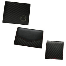 Carbon Fiber  Leather Men's Wallet & Credit card wallet & Zero wallet Coin Purse