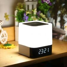 Bluetooth Wireless 3D Stereo Speaker w/ Mic Alarm Clock TF MP3 Music Player U3L1