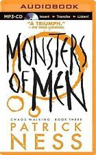 Chaos Walking: Monsters of Men 3 by Patrick Ness (2014, MP3 CD, Unabridged)