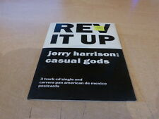 JERRY HARRISON : CASUAL GOODS - REV IT UP LIMITED PACK!!!!!!!!JHCDP 1!!!!!!!!!!!