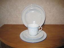 SELTMANN BAVARIA *NEW* OISEAU BLEU Set 3 assiettes + 1 tasse Plates + cup Vogels