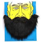 Beard Moustache Disguise Facial Hair Halloween Party Props Fancy Costume - CB
