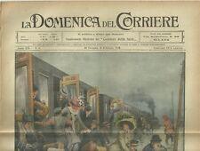 La Domenica del Corriere 30 Gennaio - 6 Febbraio 1910 La Grande Inondazione