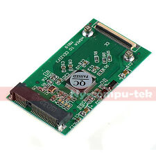 New mSATA PCI-E SSD Converted To 40Pin ZIF CE Cable Adapter Converter Card