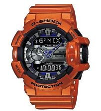 Casio G Shock * GBA400-4B G'MIX Music iOS Android Bluetooth Orange COD PayPal