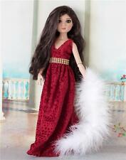 Tonner Lizette Amber, Gown & Boa, Outfit by Martha! BJD