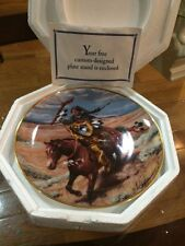 Free as the Wind  LTD. Edition Collector Plates Western Heritage Museum