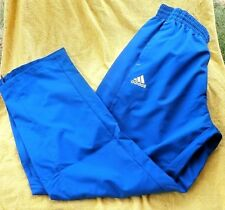 Adidas Track Warm-up Pants S M L XL Red Green Burgundy Blues Climalite $50 NWT