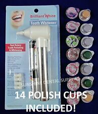 Electric Tooth Polisher & Multi-Flavored COARSE GRIT Prof Whitening Teeth Polish