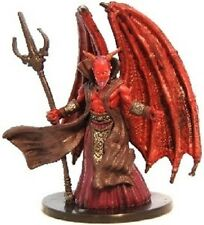 D+D miniatures 1x x1 Mephistopheles, Lord of Cania Lords of Madness NM with Card