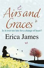 Airs and Graces, James, Erica, New Books