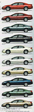 2002 Dodge INTREPID  Brochure / Catalog with Color Chart : SE, ES, R/T, RT