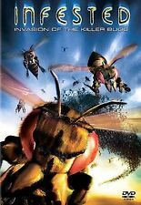 Infested Invasion of the Killer Bugs (DVD, 2003) BRAND NEW FACTORY SEALED