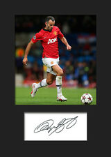Ryan Giggs - Manchester United Signed Photo A5 Mounted Print - FREE DELIVERY