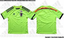 Soccer JAPAN National Team Kid's 2014 Away Model adidas Short Sleeve Jersey(L)