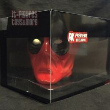 Marvel Comics DEADPOOL MOLDED FIGURAL Coffee Mug PX Merc With A Mouth CUP!