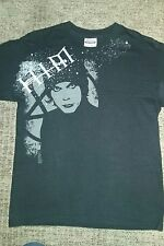 HIM heartagram Funeral of Hearts tshirt Ville Valo Youth L 14/16 Preowned Discon