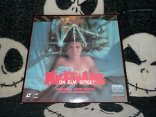 A Nightmare on Elm Street Laserdisc LD Wes Craven Robert Englund Free Ship $30