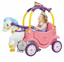 Little Tikes Princess Horse and Carriage Cozy Coupe  *  Brand New  * AVAIL APRIL