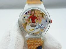 "Délifrance,""Your Favorite Cafe""Designer ADVERTIZING CHARACTER WATCH,1154,L@@K"