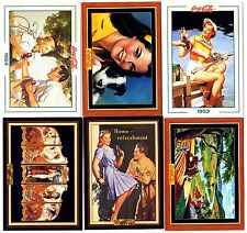 COCA COLA Lot de 6 Cartes NEUVES DIFFERENTES Lot N° COCA-K 020