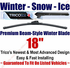"18"" WINTER Wiper Blade - Super Premium Beam-Style - 2000-2014 - Trico ICE 35-180"