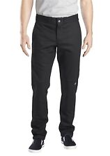 Dickies Black Skinny Straight Fit Double Knee Work Pant 36X32 NWT FREE SHIPPING